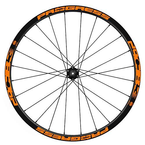 Pegatinas Llantas Bicicleta Progress CB3 29 WH54 Naranja