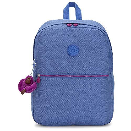 Kipling Emery Mochila Escolar, Multicolor (Dew Azule)