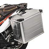 Maleta lateral aluminio Bagtecs 45l Triumph Adventurer, Bonneville Newchurch/Spirit, Bonneville T100/T120/T214, Bonneville/ SE, Sprint GT/RS/ST, Sprint 900, Tiger 800 XC/XR,Tiger 800/ XC
