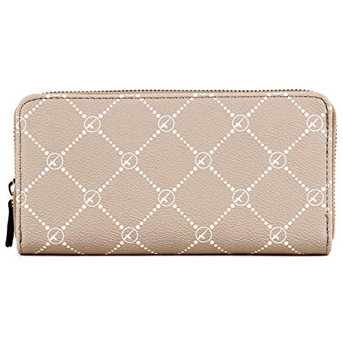 Tamaris Anastasia Zip Around Wallet Taupe