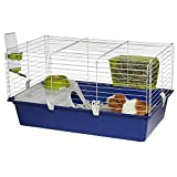 MidWest Homes for Pets Critterville Cleo Guinea Pig Cage | Includes All Accessories, Blue, Large (171CL)