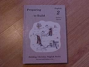 Preparing to Build: English 2 Teacher's Manual (Building Christian English)