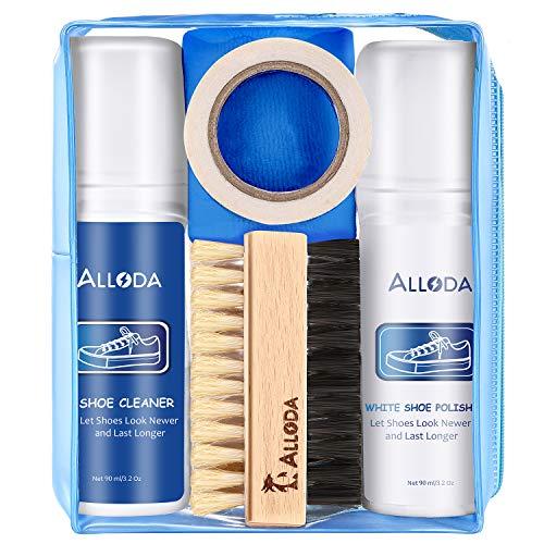 Shoe Cleaner+Shoe Whitener, Sneaker Cleaner, Brush-Shoe Cleaning Kit, Alloda (Clear)