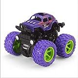 Modelo coche de la inercia del niño Bloque de construcción en interiores y exteriores Cuatro ruedas motrices a prueba de golpes chuchería de la suspensión niño de juguete de simulación Matrix juguete