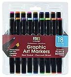 Pro Art Marker Set, 18 Colors