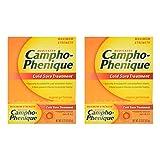 Campho-Phenique Cold Sore Treatment, Maximum Strength, Original Gel Formula, 0.23 Fl Oz - 2 Pack