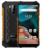 Ulefone Armor X5【2020】 4G Télephone Portable Android 10, MTK6762 Octa-Core 3Go RAM 32Go ROM,...
