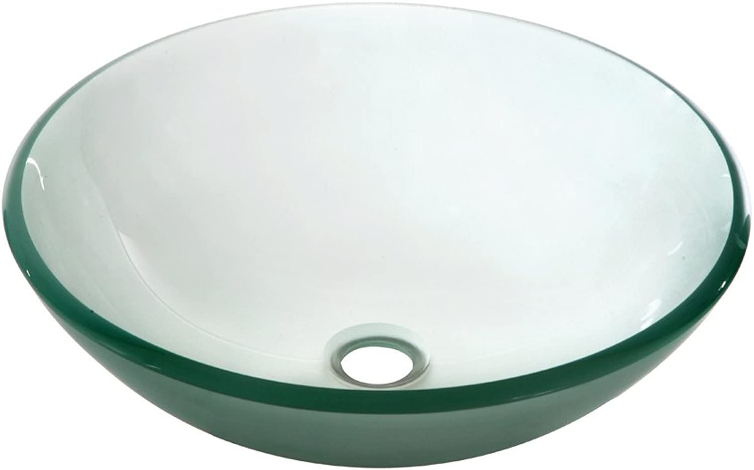 Dawn Tempered Glass Vessel Sink-Round Shape, Frosted