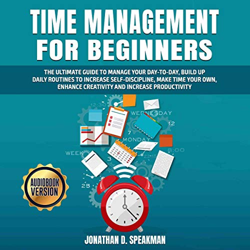 Time Management for Beginners cover art