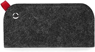 BGDRR 1 PC Lunettes de Soleil Sac Unisexe Lunettes étui Souple en Feutre Tissu Lunettes Pouch Lunettes de Protection Lunet...