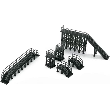 Outland Models Train Railroad Track Buffer x4 for Station N Scale 1:160