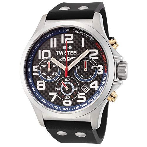 TW Steel Herren-Armbanduhr Yamaha Factory Racing YZR-M1 Chronograph Datum Analog Quarz TW927