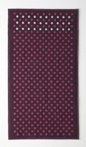 Essix - Serviette de Bain Acolytes Coton Bleu Marine 50 x 100 cm