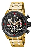 Invicta Men's 17206 'AVIATOR' Stainless Steel Casual Watch