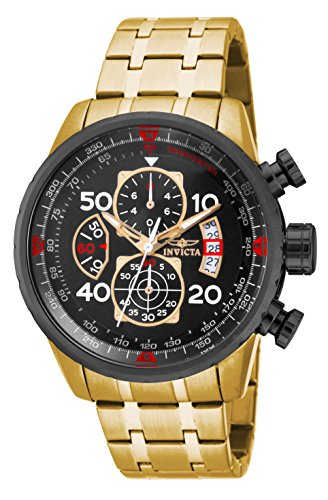 Invicta 17206 Watch Men's AVIATOR Stainless Steel Casual