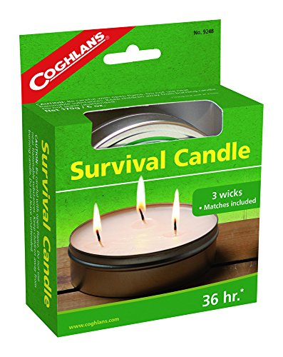 Coghlan's 36-Hour Survival Candle, 6-Ounce