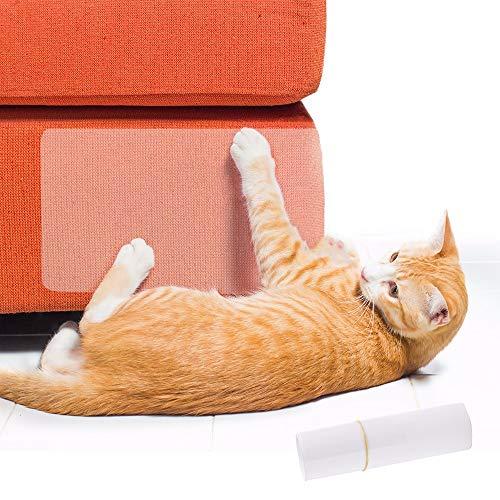 Dorime 2pcs / Set del Animal doméstico del Gato Grande de Scratch Guard Mat Gatos Rascador de Muebles Sofá Garra Protector Pads para sillas de Cuero de tapicería