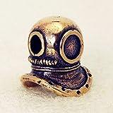 Taucherhelm Anhänger Bronze Schlüsselanhänger Charme