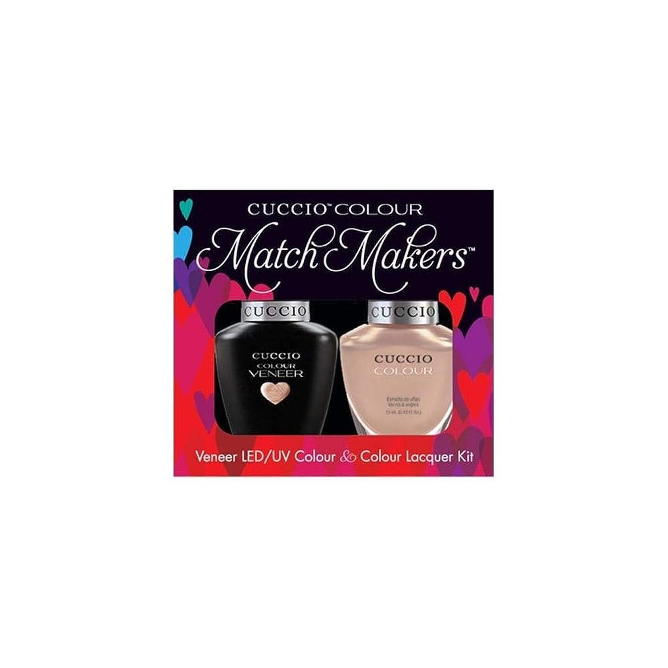 滅びるフェードアウト動機付けるCuccio MatchMakers Veneer & Lacquer - I Want Moor - 0.43oz / 13ml Each