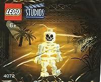 LEGO 4072 Skeleton レゴ スタジオ コカコーラ スケルトン