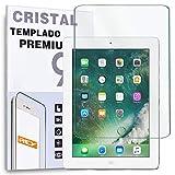 REY Protector de Pantalla para Apple iPad 2/3/4 Cristal Vidrio Templado Premium