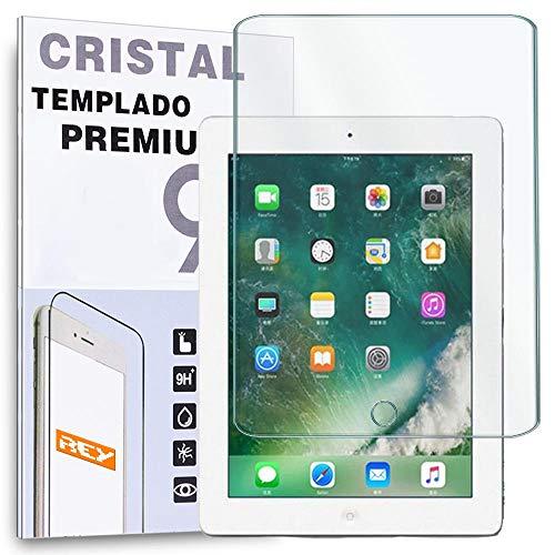 REY Protector de Pantalla para Apple iPad 2 3 4 Cristal Vidrio Templado Premium