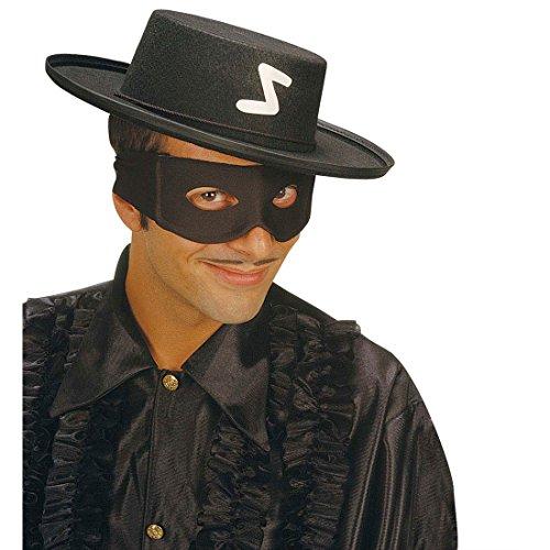 NET TOYS Noir Masque de Zorro Bandits Masque Zorro Masque de Bandits Masque de Carnaval Masque de déguisement Loup Masque de Zorro