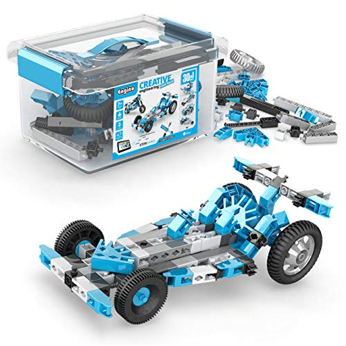 Engino - Creative Engineering Maker Master 30 Models Set | STEM Activities and Experiments Included | For Ages 8 + | Perfect for Home Learning