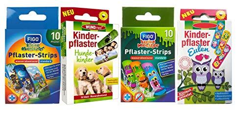 Cerotti per bambini – con fantastici motivi colorati a scelta: colorato – animali – Cartoon – avventura/per ragazzi colorato