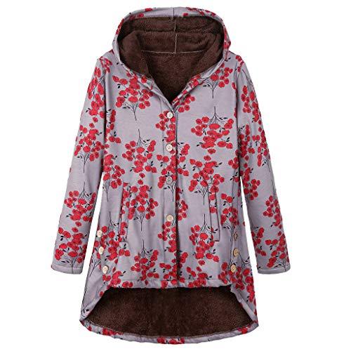 Momoxi Plüsch Damen Jacke Plus Size Warm Weich Print Weihnachtsjacke Geschenkidee Für Winter online Basic Bikerjacke Windbreaker regenponcho friesennerz Warnweste Sweatshirt Bora