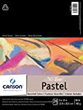 CANSON Mi-Teintes Pastel Pad, Assorted Colors 9'X12' Fold Over (100510864)