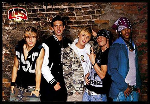 US5 - Wall - Musikposter Foto Boygroup Richie - Grösse 91,5x61 cm + 1 Ü-Poster der Grösse 61x91,5cm