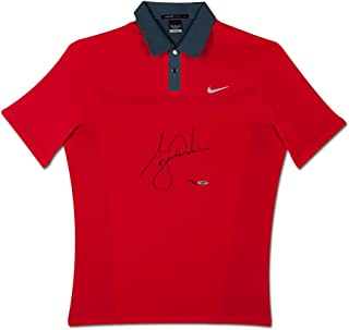 Tiger Woods Signed 2013 Nike TW Engineered Red Polo, UDA - Limited to 50