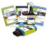 ALCLEAR 8201050 Autopflegeset für Tiefenglanz, mit Lack & Scheiben Trockentuch, Auto Poliertuch,...