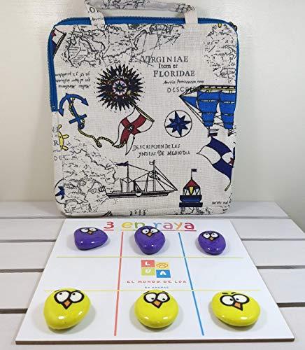 Pack de 3 juegos de mesa hechos a mano