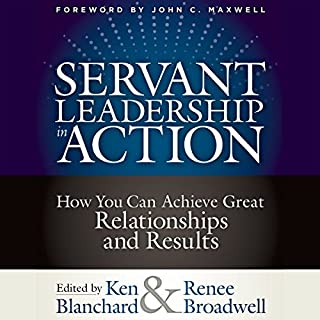 Servant Leadership in Action     How You Can Achieve Great Relationships and Results              Written by:                                                                                                                                 Ken Blanchard,                                                                                        Renee Broadwell                               Narrated by:                                                                                                                                 Natalie Hoyt,                                                                                        Jeff Hoyt                      Length: 9 hrs and 52 mins     1 rating     Overall 5.0