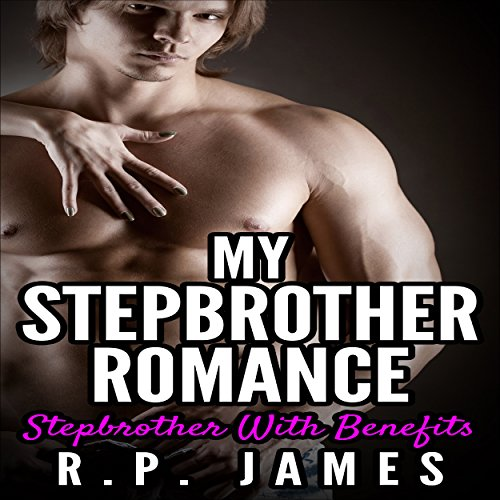My Stepbrother Romance audiobook cover art
