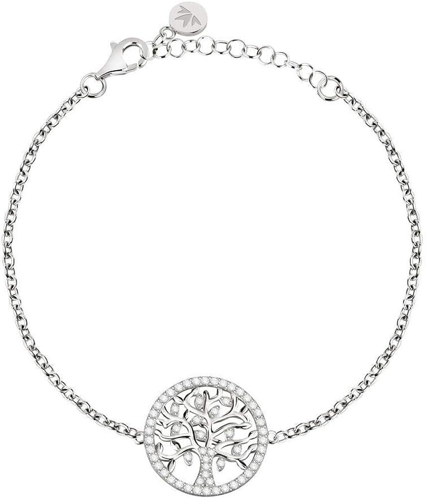 Morellato bracciale per donna in argento 925 e cristalli 8033288901532