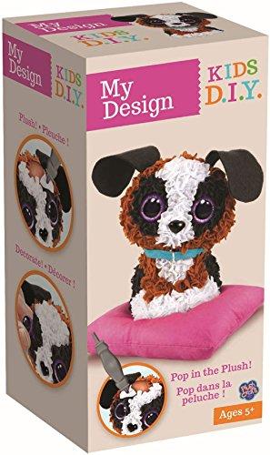 Orb Factory My Design Plüsch-Spielzeug, Hund, 3D, Mehrfarbig