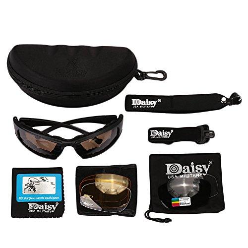 Giantree Gafas de moto polarizadas a prueba de humo Protección ocular Gafas de seguridad protectoras de laboratorio Gafas con ventilación de laboratorio