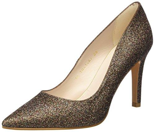 lodi Rami-39Te1 Zapatos de Tacón Mujer, Dorado, 39 EU