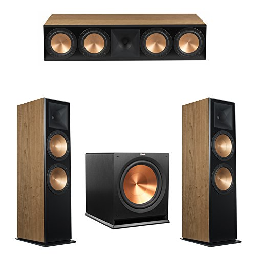 Great Deal! Klipsch 3.1 Cherry System with 2 RF-7 III Floorstanding Speakers, 1 RC-64 III Center Speaker, 1 Klipsch R-115SW Subwoofer
