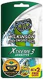 Wilkinson Sword Xtreme 3 Sensitive Einwegrasierer, 6 Stück + 2 gratis