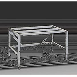 """Labconco 3888420 Stainless Steel Purifier Horizontal Clean Bench with UV Light, 4' Nominal Width, 26"""" Interior Depth, Domestic Plug Type, 115V 2 Angled profile is free of protrusions that could interfere with visibility or obstruct taller users Differential pressure across the HEPA filter is monitored via a Minihelic II pressure gauge Feature easy-to-clean, melanine-laminated hardboard interior work surface, epoxy-coated steel on exterior"""
