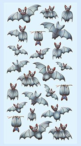 HobbyFun SOFTY-Sticker Fledermäuse