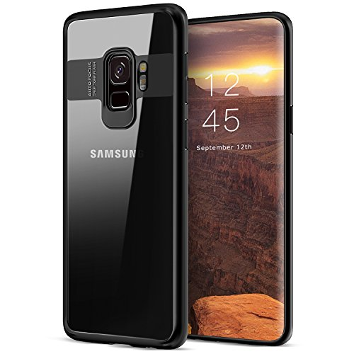 Galaxy S9 Case, Basstop Premium TPU + Acrylic Anti-Scratch Protective Clear Transparent Case for Samsung Galaxy S9