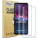AOKUMA für Motorola One Action Panzerglas,【2 Stücke】 Glas kompatibel mit Motorola One Action Schutzfolie, Premium Glasfolie mit 9H Festigkeit, Anti Kratzer, Splitterfest,Anti-Öl,Anti-Bläschen