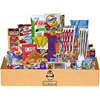 51-Count Premium Penguin Chips Crackers Candy Cookies Snack Box