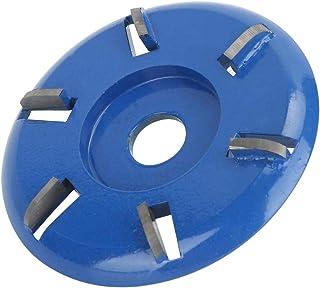 Haakse slijperwielen voor hout, 3,5 `` diameter, 6 tanden Power houtsnijschijf voor houtbewerking, wielfrezen Accessoires ...