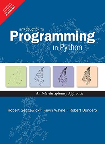 Introduction to Programming in Python 1